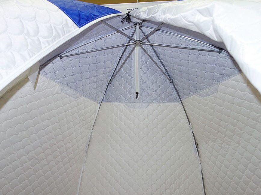 Тент для зимней палатки своими руками